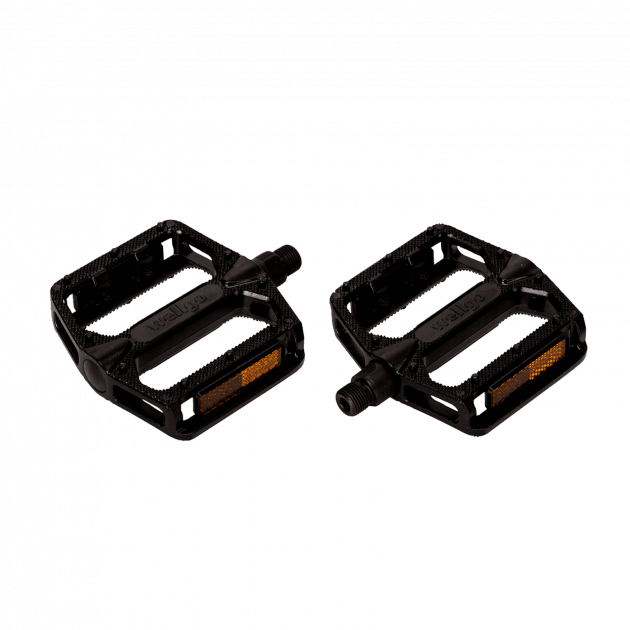Wellgo Bmx Platic Pedals&Accessories Black