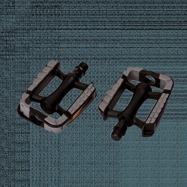 Wellgo City Plastic 100 Pedals&Accessories Black