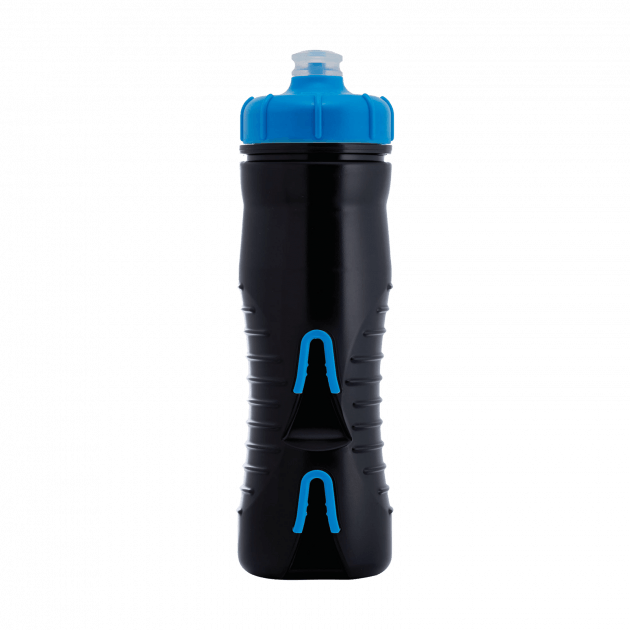 Fabric Cageless Insulated 525Ml Bottles & Cages Black/Blue