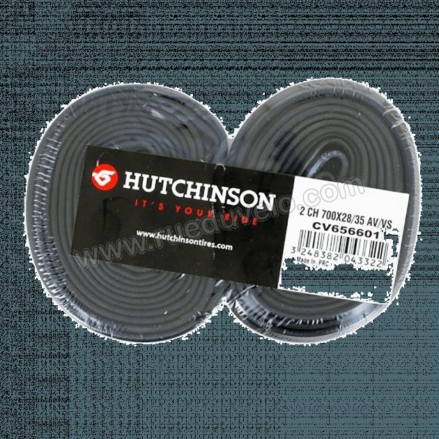 Hutchinson Tubes Set Of 2 Tubes Type 3 Black 700X28-35