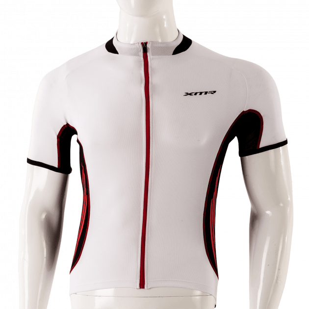 XMR Jersey 200 Apparels White/Red Small