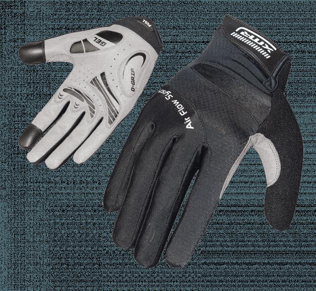 XMR Air Flow Gell Gloves Black X-Large