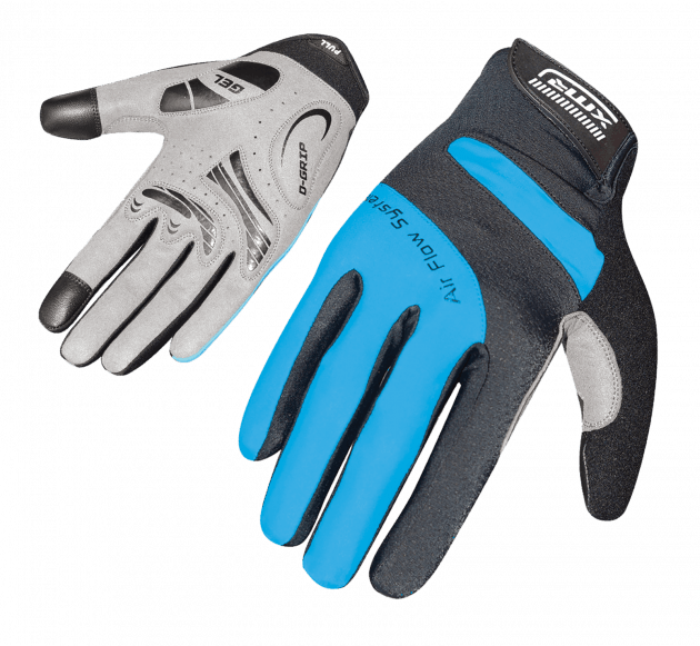 XMR Air Flow Gell Gloves Black/Blue Large