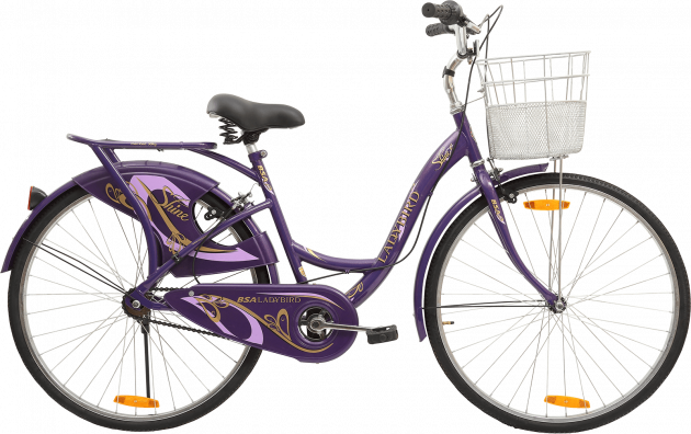 BSA Ladybird Shine 26T Cadburry Purple