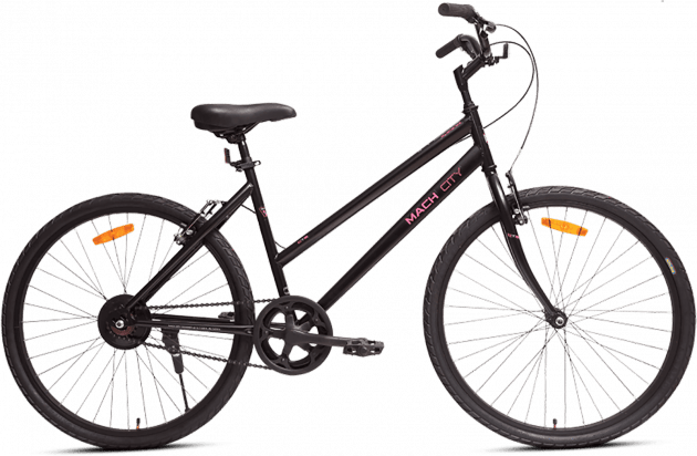 Mach City iBike W Single Speed Small Matt Black