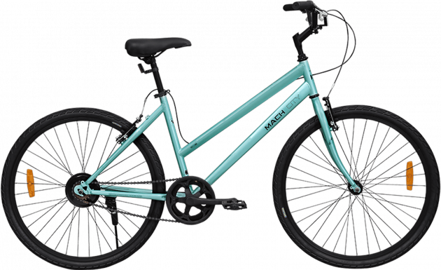 Mach City iBike W Single Speed Small Cameo Green