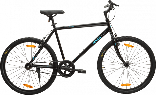 Mach City iBike Single Speed Large Matt Black