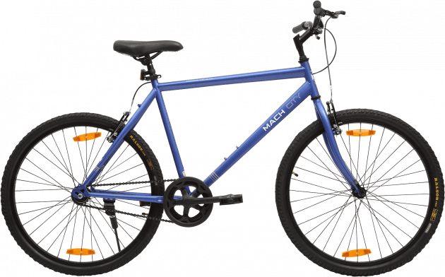 Mach City iBike Single Speed Large Berry Blue