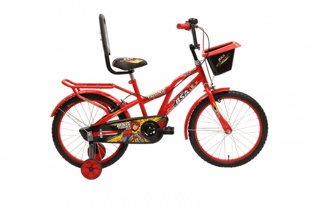 BSA Toonz 16T Smart Red/Black