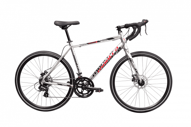 Montra Heliconx Disc Medium Silver/Red/Black