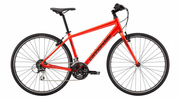 Cannondale Quick 7 (L/19.7) Red (2019)