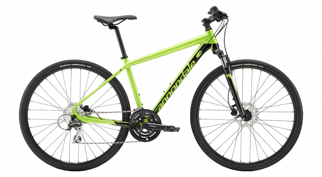 Cannondale Quick CX 4 (M/17.7) Green (2019)
